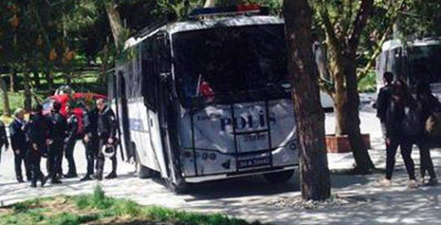 İTÜ'de Ermeni soykırımı protestosuna saldırı