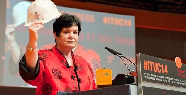 ITUC Kongresi Soma anmasıyla başladı