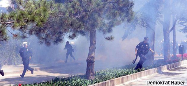 İzmir ve Eskişehir'de öğrencilere polis müdahalesi