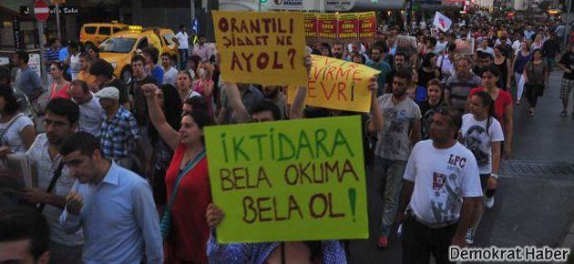 İzmir'de 2 bin kişi yürüdü