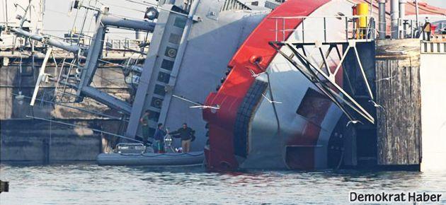 İzmir'de askeri tersanede kaza