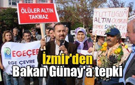 İzmir'den Bakan Günay'a tepki