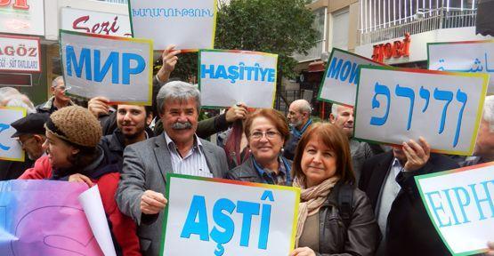 İzmir'den barışın sesini yükselttiler