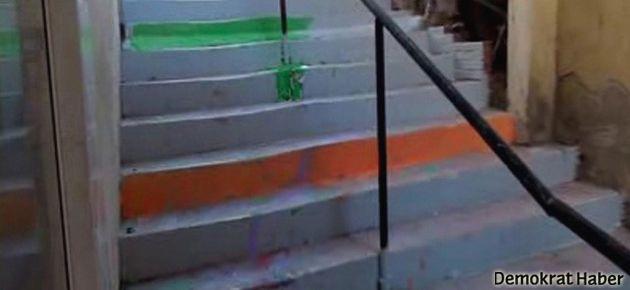 İzmit'te merdiven boyamaya para cezası