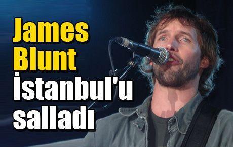 James Blunt İstanbul'u salladı