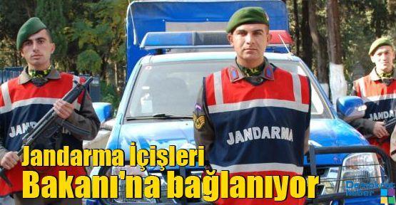 Jandarma İçişleri Bakanı'na bağlanıyor