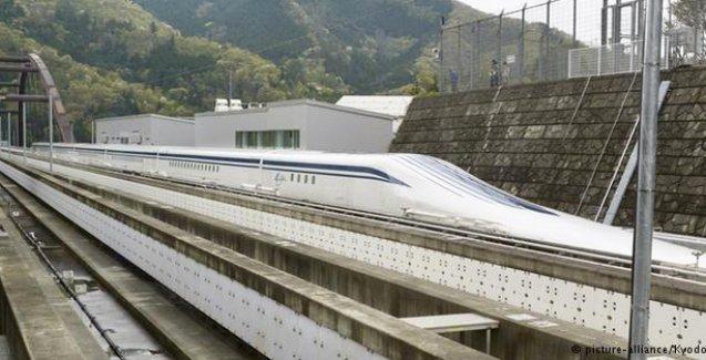 Japonya'nın 'Uçan treni' Maglev'den yeni rekor