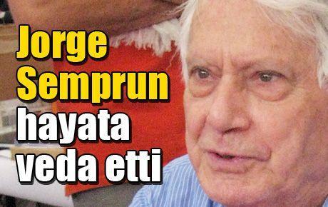 Jorge Semprun hayata veda etti