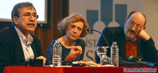 Kaçıranlar için Orhan Pamuk-Umberto Eco buluşması