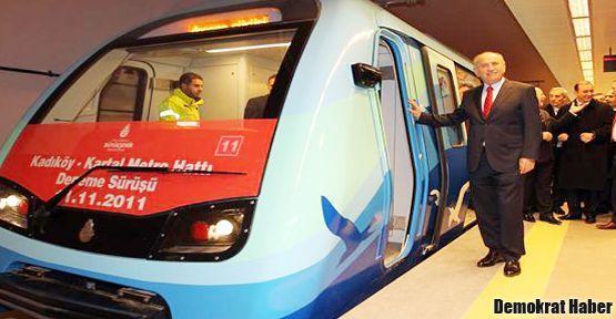 Kadıköy-Kartal Metrosu 17 Ağustos'ta açılıyor