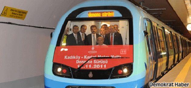 Kadıköy-Kartal Metrosu'nda, usulsüzlük iddiası