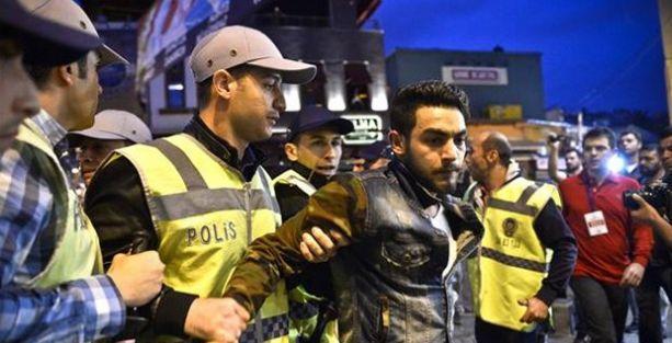 Kadıköy ve Beşiktaş'ta polis müdahalesi