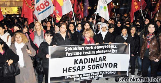 Kadınlara saldıran Bursa taraftarına protesto