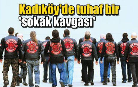 Kadıköy'de tuhaf bir 'sokak kavgası'