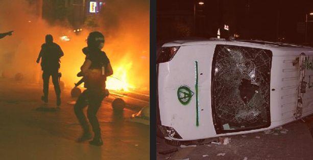 Kadıköy'deki Soma protestosuna polis saldırısı