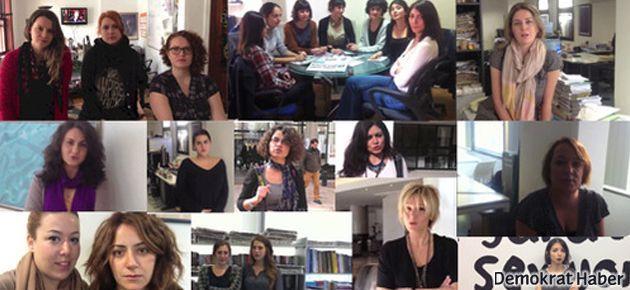 Kadın gazetecilerden Erdoğan'a videolu cevap