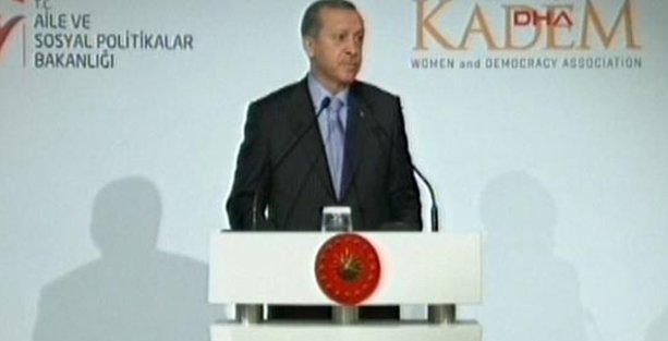 Erdoğan: Kadın ve erkeğin eşitliği fıtrata ters!