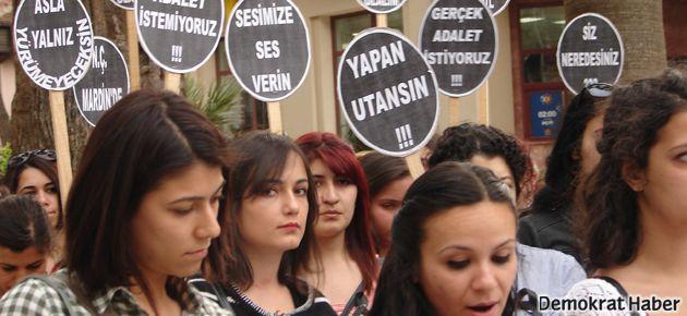 Kadınlar Denizli'de tecavüze karşı isyandaydı