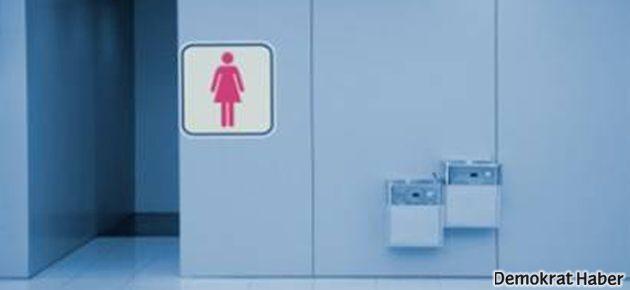 'Kadınlar tuvaletine kamera'ya tahliye