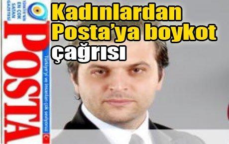 Kadınlardan Posta'yı boykot çağrısı