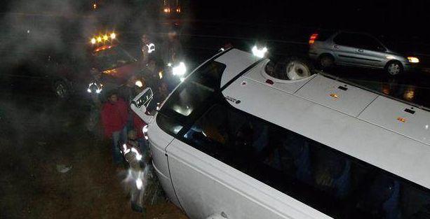 Kahramanmaraş'ta midibüs devrildi: 23 işçi yaralı