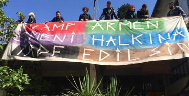 Kamp Armen'de direniş 10. gününde