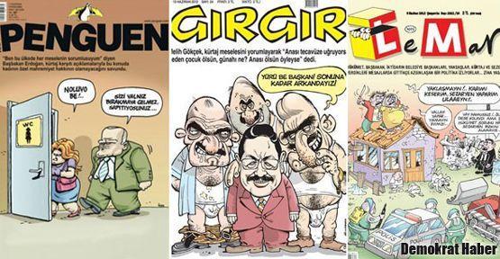Kamu görevlilerinin Penguen, Gırgır ve Leman'ı okuması devlete hakaret sayıldı!