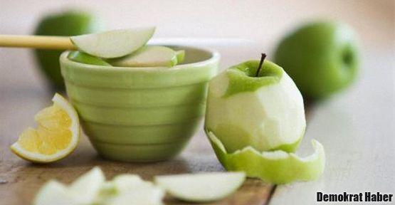 Kansere karşı elma kabuğu