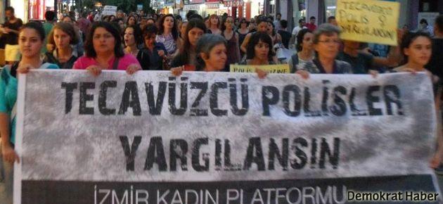 Karakollardaki cinsel işkenceyi protesto ettiler
