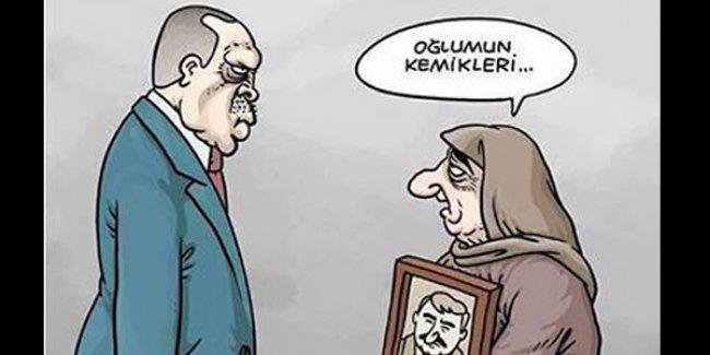 'Kardeşim, ne Kürt sorunu ya?' diyen Erdoğan Uykusuz'un kapağında