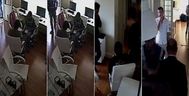 Karşı'ya polis baskını: O haberi silin