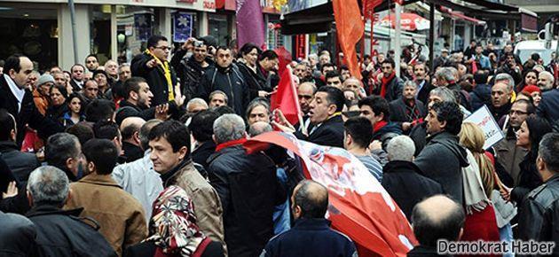 Kasımpaşa'da AKP-CHP kavgası