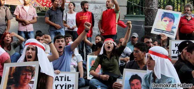 'Katilleri istiyoruz' nöbeti başladı