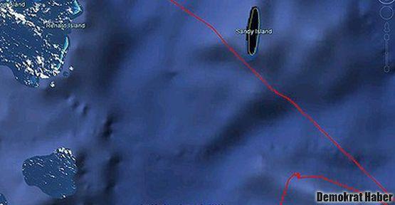 Kayıp bir ada: 'Sandy Adası'