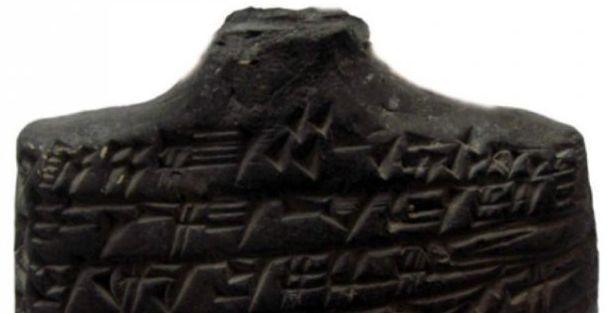 Kayseri'de 4 bin yıllık kara büyü tableti