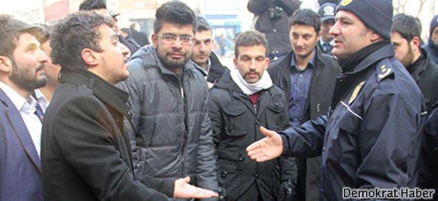 Kayseri'de HDP'ye yer kiralayan bina sahibi dövüldü