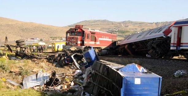 Kayseri'de tren kazası:1 ölü