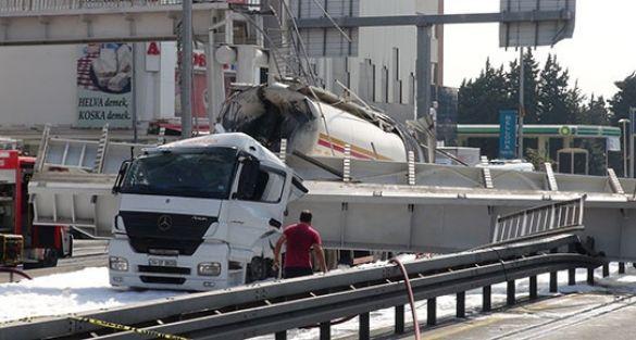 Kaza yapan tanker şoförü: Kumanda bozuktu, damperi indiremedim!