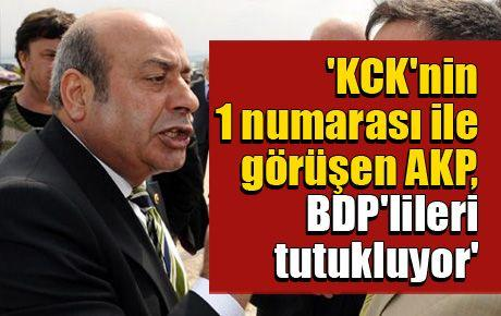 'KCK'nin 1 numarası ile görüşen AKP, BDP'lileri tutukluyor'