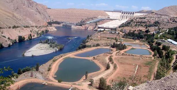 Keban'da 40 yılın en büyük kuraklığı