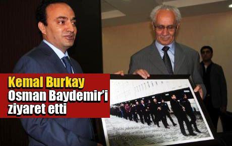 Baydemir'den Burkay'a çok 'anlamlı' hediye
