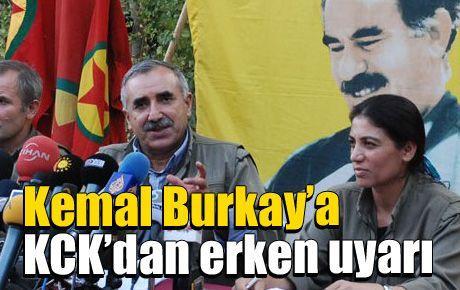 Kemal Burkay'a KCK'dan erken uyarı
