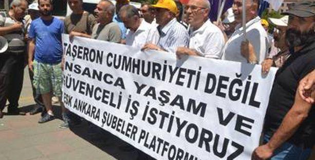 KESK Torba Yasa'yı birçok kentte protesto etti