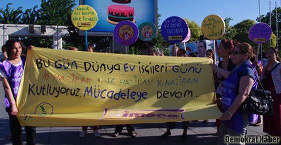 KESK ve DİSK'li kadınlar 'ev işçileri' için harekete geçti