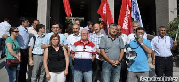 KESK'lilerin duruşması 25 Kasıma ertelendi