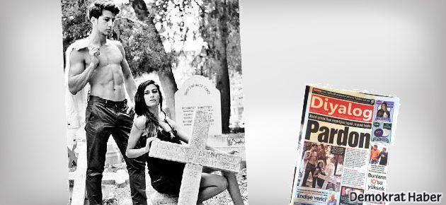 Kıbrıs'ta Rum mezarlığında çekim krizi