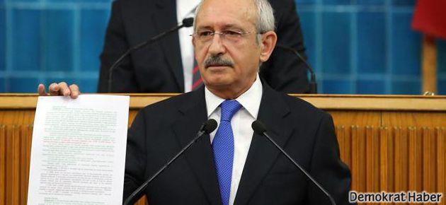 Kılıçdaroğlu 'dehşet belgesi'ni açıkladı, savcı gitti!