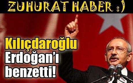 Kılıçdaroğlu Erdoğan'ı benzetti!