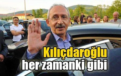 Kılıçdaroğlu Erzurum'da her zamanki gibiydi…