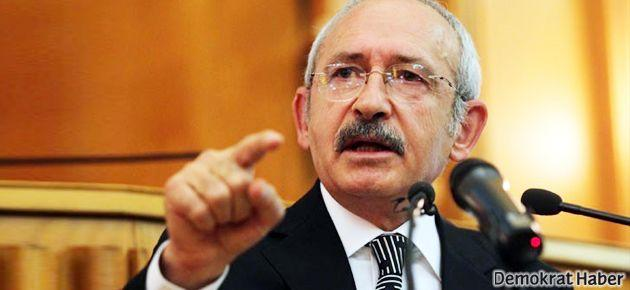 Kılıçdaroğlu: Hırsızlığın arkasında olana adam denmez!